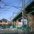 写真: 西武線 鉄橋
