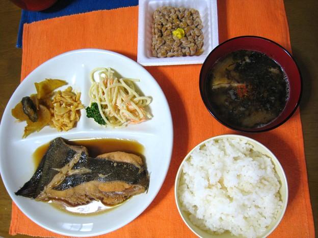 煮魚定食・・・