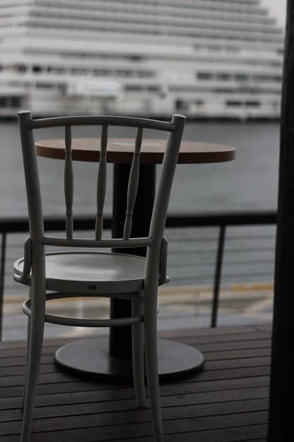 だいすきな神戸の港を眺めて