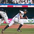 5/3 ライオンズ戦 荻野貴vs菊池雄星