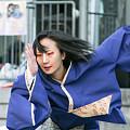 写真: 魚沼華美_池袋チャリティーよさこい-07