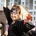 写真: 楓華~fuuka~ よさこい鳴子踊りチーム-16