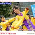 写真: ドリーム夜さ来いオフィシャルチーム_東京大マラソン祭り2008_bf