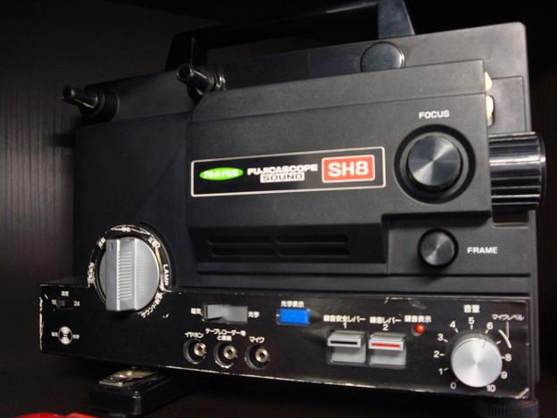 8mm映写機