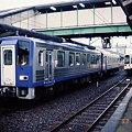 写真: キハ120 13とJR東海 キハ11
