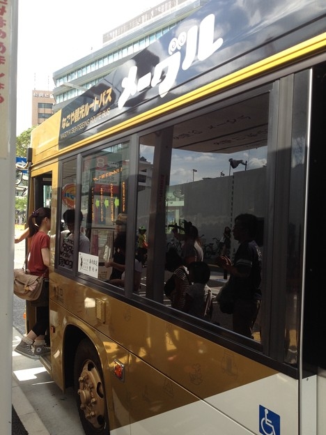 なごや観光ルートバス「メーグル」_06:車体側面