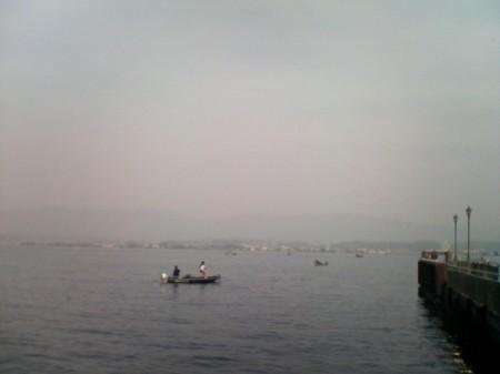 20070527_1,300kmひとり走り_0628_琵琶湖東岸から