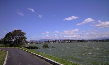湖山池 四