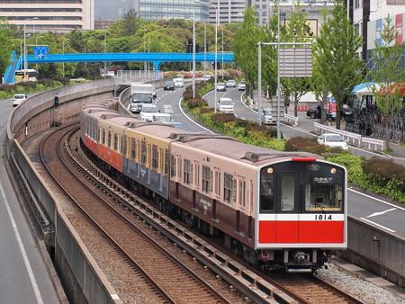 大阪市営地下鉄10系復刻ラッピング 北大阪急行線千里中央~桃山台