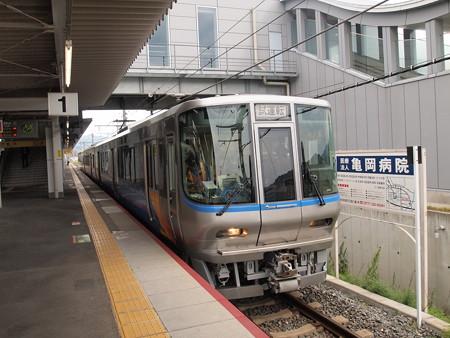 クモヤ223系 U@Tech 山陰本線亀岡駅