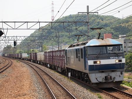EF210貨物 東海道本線島本駅