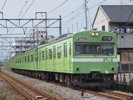 103系普通 奈良線東福寺~稲荷01