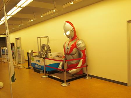 ウルトラマンと発電体験システム