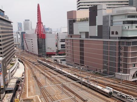 321系普通 東海道本線大阪駅(ルクア)