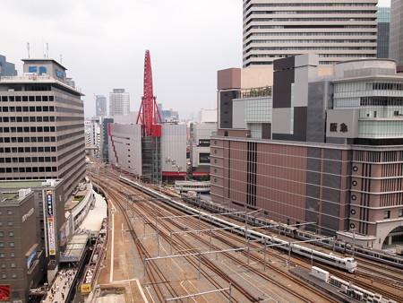 683系特急サンダーバード 東海道本線大阪駅(ルクア)