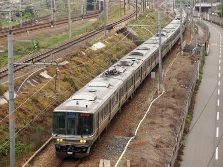 223系新快速   東海道本線塚本~尼崎01
