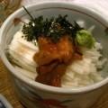 Photos: 釧路産汐うにと山芋