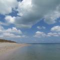 写真: アイヤル浜(竹富島)