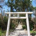 写真: 久間原御嶽(竹富島)