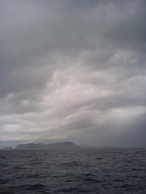 フェリーニューくめしま船上(渡名喜島付近)