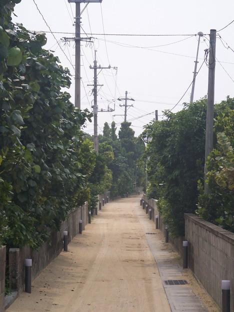 渡名喜島集落