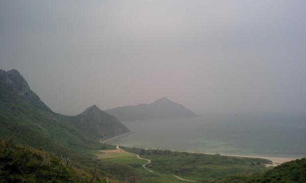 南側の浜(渡名喜島)