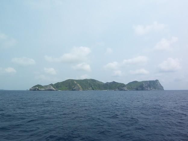 フェリーニューくめしま船上(渡名喜島)