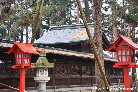 年の瀬の神社