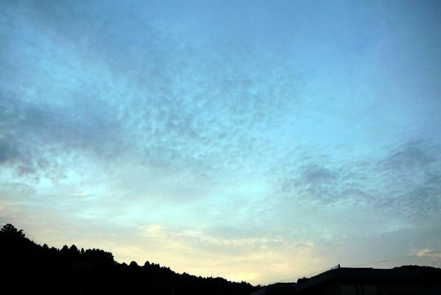 朝雲~透明なブルー