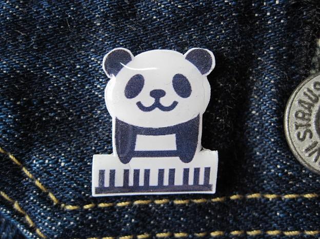 ピアノパンダバッチ IMG_1028