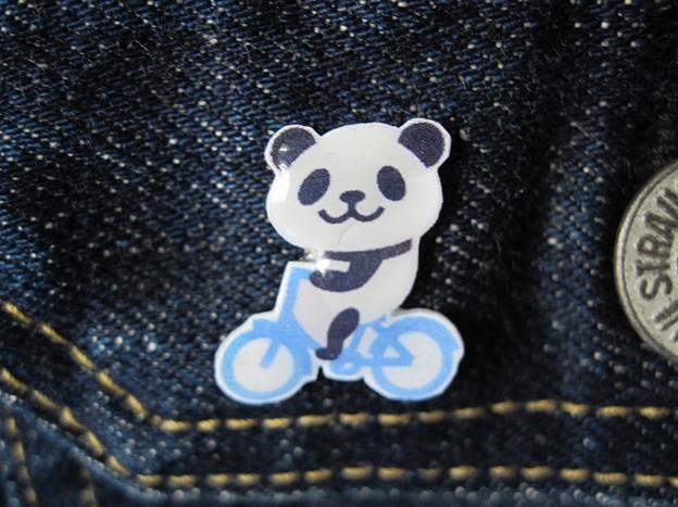 自転車パンダバッチ IMG_1030