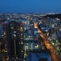 仙台市夕景