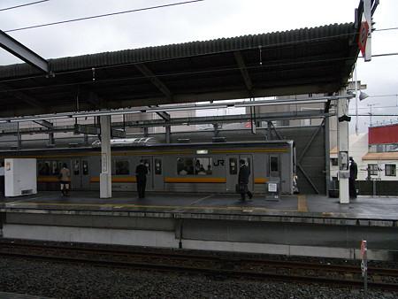 205系南武線(武蔵中原駅)