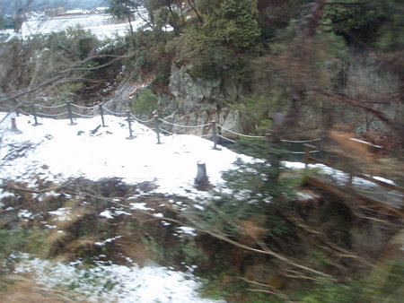 名松線の車窓