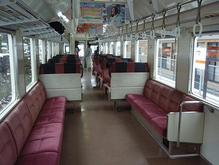 キハ11系車内(伊勢奥津駅)