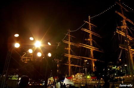 帆船祭りで