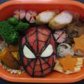 Photos: スパイダーマン弁当?