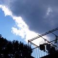 午後に見上げた空