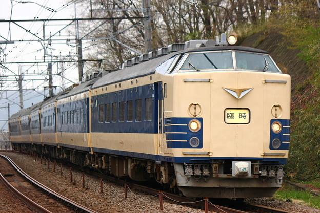 583系団体列車