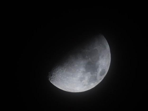 写真: AF Zoom-Nikkor ED 80-200mm F2.8D(OLD)で撮った月