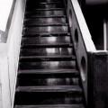 写真: 古階段