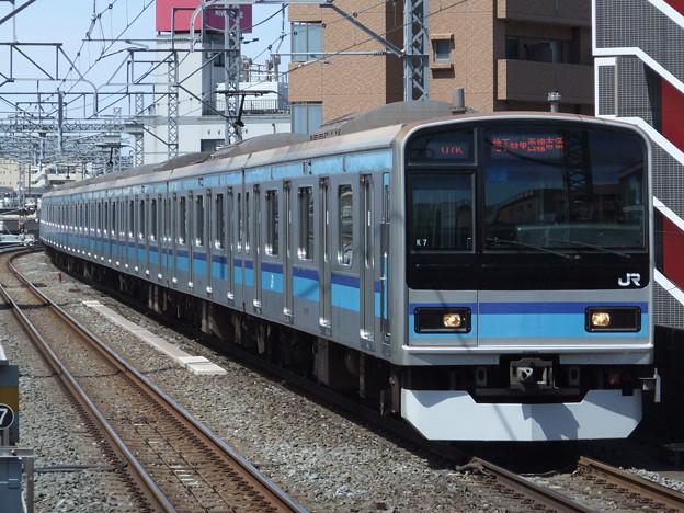 中央緩行線メトロ直通車E231系800番台 K7編成