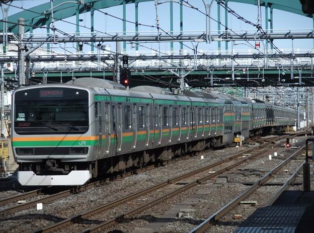 Photos: 湘南新宿ラインE231系1000番台 K-24編成他15両編成