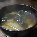 Photos: 白菜とわかめの味噌汁12.7☆014