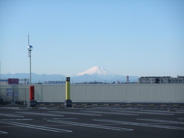 写真: 近所の新富士山スポット