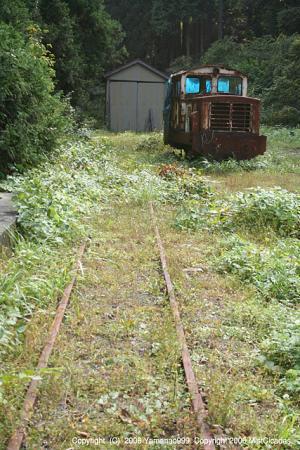 旧尾小屋鉄道跡
