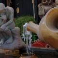 Photos: 焼き物の街の茶釜