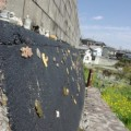 Photos: 焼き物の街の壁
