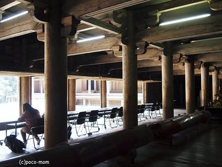 円教寺食堂内部2014年04月12日_P4120170