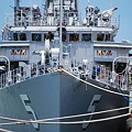 写真: 米海軍掃海艇がやってきた!12